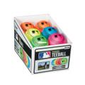 Franklin 23342S4 Franklin MLB Neon - Rubber Teeball 12 pc PDQ - 23342S4