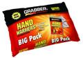 Grabber HWPP10 Big Pack Hand - Warmers 10 Pack of Small 7Hrs - HWPP10