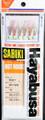 Hayabusa S-501E-10 Mix Yarn - Mackerel Sabiki Rig - S-501E-10
