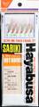 Hayabusa S-501E-12 Mix Yarn - Mackerel Sabiki Rig - S-501E-12