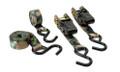 HME HME-RS-4PK Camoufage Ratchet - Tie Down-4Pk - HME-RS-4PK