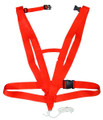 Hunters Specialties 02019 Deluxe - Deer Drag Orange Body Harness - 2019