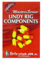 """Lindy CP112 Snell Float, 3/4"""" - Fluorescent Orange,8/Pack - CP112"""