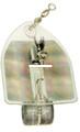 "Luhr Jensen 5520-000-1150 Deep Six - Diver 3-1/2"" Clear/Silver Disco Tape - 5520-000-1150"