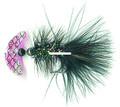 Macks Lure 60233 Smile Blade Fly - #2 Hook, Transparent Scale Smile - 60233