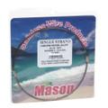 Mason SSBRO-5 Stainless Steel Wire - Leader Material 44Lb 25' .014 Brown - SSBRO-5