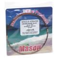 Mason SSBRO-6 Stainless Steel Wire - Leader Material 58Lb 25' .016 Brown - SSBRO-6