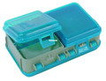 "Plano 171301 Mini Tackle Storage - Tote 5x3x1.5"" Met Gray/Blu - 171301"