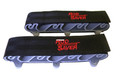 Rod Saver SM6 Vertical Mount Rod - Saver Straps with Rubber Inserts - SM6
