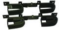 Rugged Gear 10065 Gun Rack Screw Mt - Dbl Hook Adj New Metal Frame - 10065