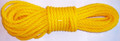 """Willapa 00227 Rope Twisted Poly - 3/8""""x50' Yellow - 227"""