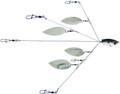 YUM YUMBWSB5TSNR YUMbrella Flash - Mob 5-Wire Fishing Rig - YUMBWSB5TSNR