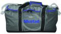 "Mustad MB015 Boat Bag 24"" Zipper - Flap, Dark Grey/Blue 500D Tarpaulin - MB015"