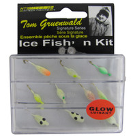 8 PIECE PANFISH ICE FISH'N KIT