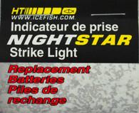 HT NIGHTSTAR STRIKE LITE REPLACEMENT BATTERIES, 4 PIECES/PACKAGE