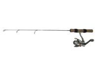 "FISH HUNTER SNOW COMBO 25"" LIGHT W/SCAR-102 REEL"