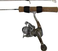 "FISH HUNTER SNOW COMBO 26"" MED W/SCAR-102 REEL"
