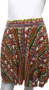 Tribal Pattern Printed Skirt