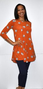 3060 Tiger Inspired Tunic