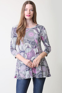 36711 Purple Circles Top