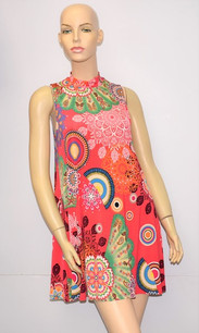 D-3111 Coral ITY Dress
