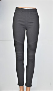 MT-01 Gray Moto Jegging