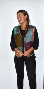 218664 Multicolored Vest