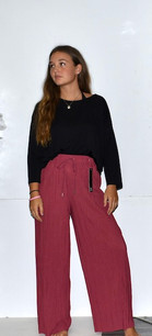 902 Pink Pleated Pants