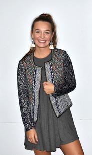 Jacquard Paisley Styled Jacket