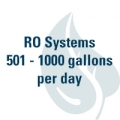 RO Systems 501 - 1000 GPD