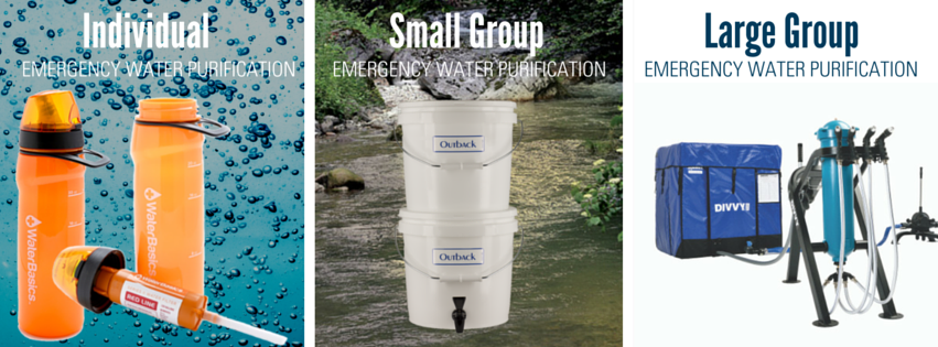 Best Emergency Water Systems For Large And Small Groups