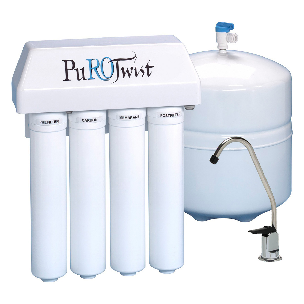 How do I install a water filter