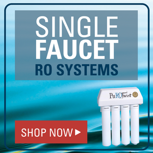 Single Faucet RO systems