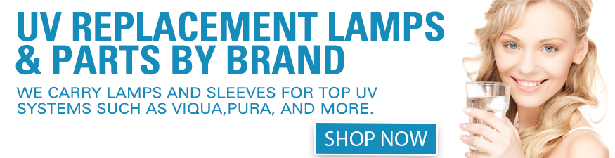 Replacement lamps and sleeves for Viqua, Pura and more