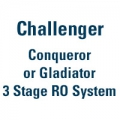 Conqueror or Gladiator 3 Stage RO System
