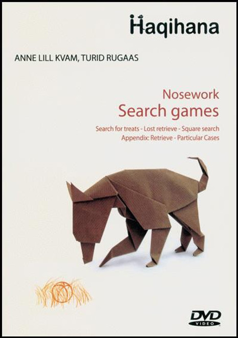 Nose Work - Search Games Dvd