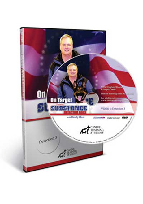 CTS On Target - Training Substance Detector Dogs - Detection 3 DVD