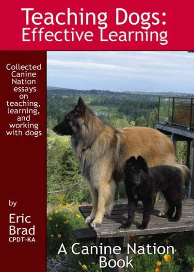 ebook teaching dogs effective learning a canine nation book cover