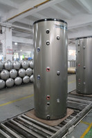 120 USG Stainless Steel Double Coil Indirect Tank