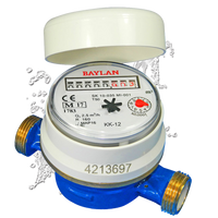 Potable Cold Water Meter (shown without pulse emitter or union tail pieces)