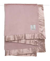 Little Giraffe Luxe Blanket | Dusty Pink