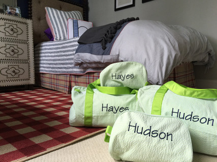 On the Road Again! | Personalized Mint Travel Set