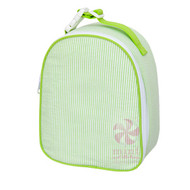 Gumdrop Lunchbox | Lime Seersucker
