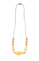Itzy Ritzy Teething Necklace | Dove Feather