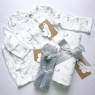 Personalized Gift Set   Grey Fox