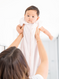 Personalized Baby Gifts | Little Giraffe Powder Plush Dreamsack
