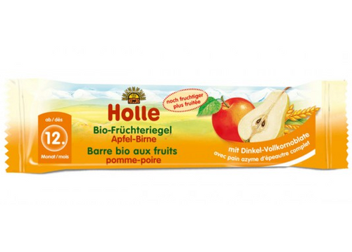 Holle Apple & Pear Organic (Bio) Fruit Bar (Fruchteriegel)