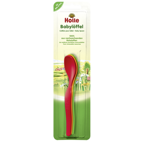 Holle 3 Colorful Baby Spoons (Babyloffel) BPA & PVC FREE