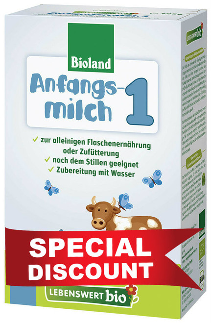 **Quick Expiration** Lebenswert Stage 1 Organic (Bio) Infant Milk Formula (500g)