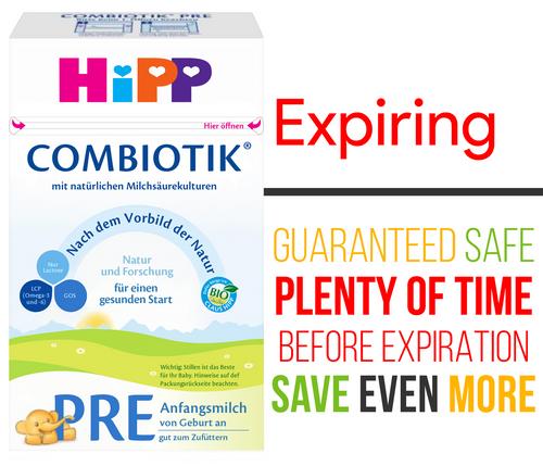 **Quick Expiration** HiPP Stage PRE Organic (Bio) Combiotic Infant Milk Formula (600g) - German Version
